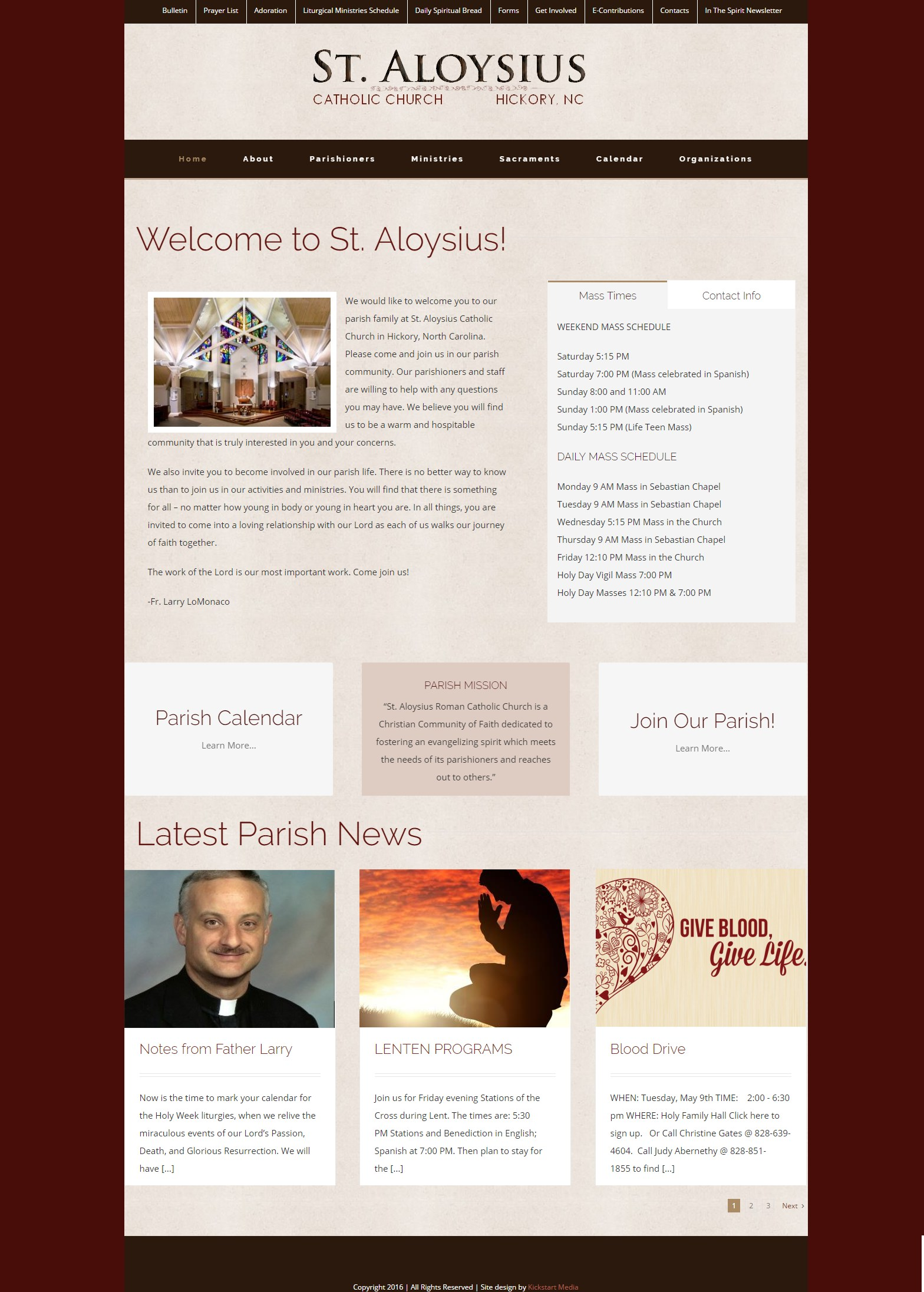 St Aloysius Catholic Church - Kickstart Media: Beautiful